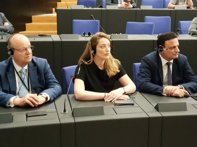 The PN's serving MEPs, (from left) Francis Zammit Dimech, Roberta Metsola and David Casa, are all up for re-election