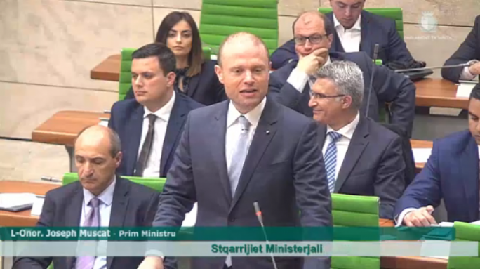 'I trust Theresa May, she'll take care of the Maltese in Britain', Muscat says