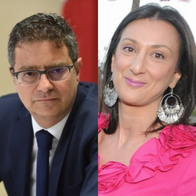 Police officer who leaked report about Adrian Delia to Daphne Caruana Galizia fined €10,000