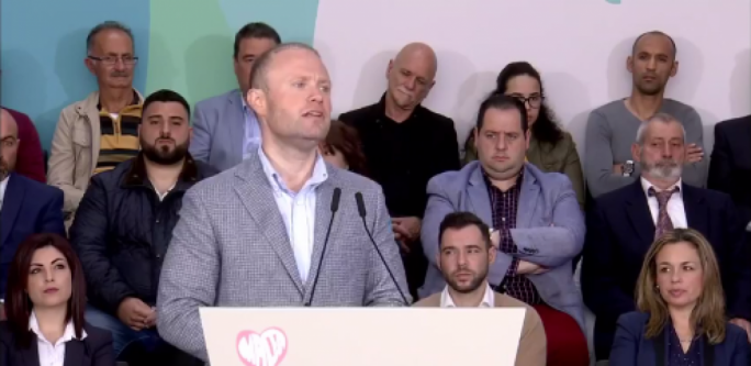[WATCH] Joseph Muscat: 'Take the PN with a bucket of salt'