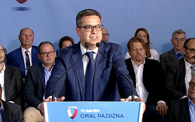 Adrian Delia was speaking at an event in Nadur, Gozo on Tuesday