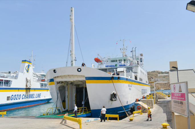 The fourth Gozo Channel vessel arrived in Malta early June
