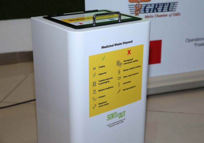 Wasteserv unveils new medical waste bins