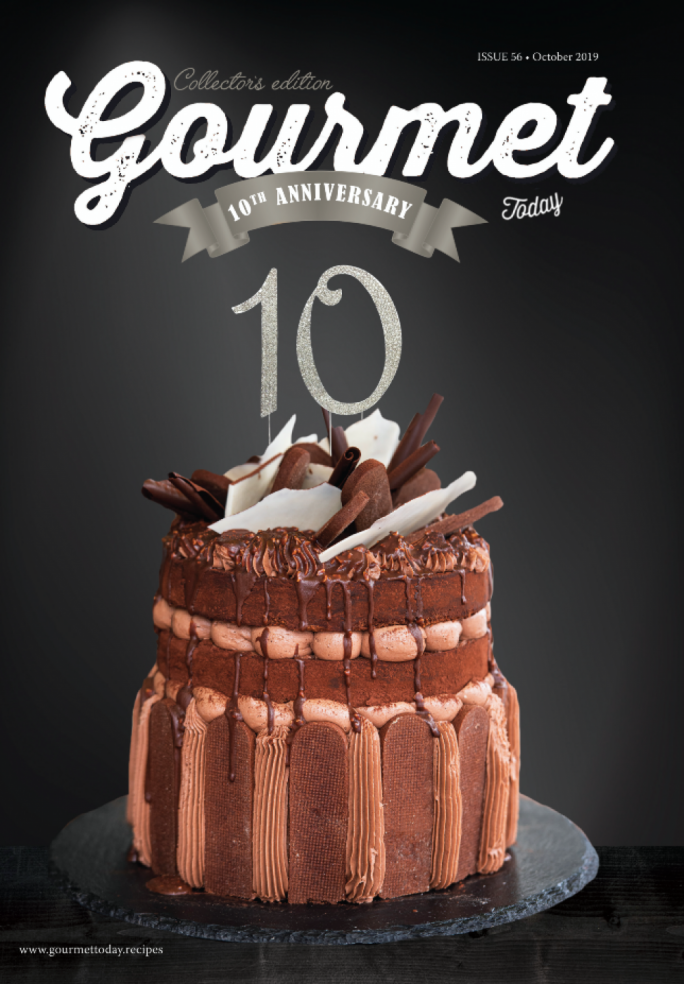[READ] 10 year Anniversary! Gourmet Today October 2019 edition online