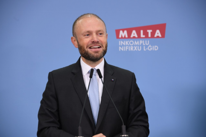 Joseph Muscat was speaking during a Labour Party event on Sunday