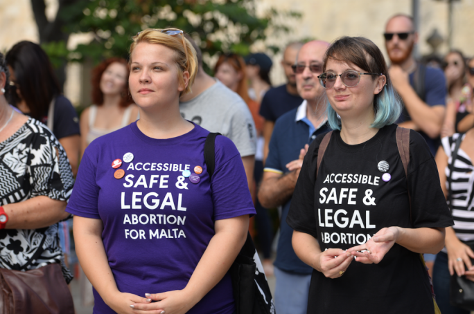 The growing movement spearheaded the first ever pro-choice rally hosted in Valletta by Voice for Choice on the occasion of International Safe Abortion Day