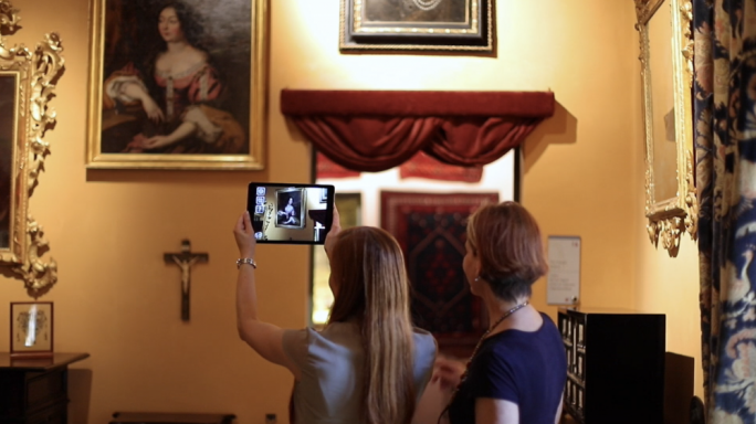Secrets of Palazzo Falson can be downloaded for free on a smart phone or tablet upon purchase of a ticket at Palazzo Falson Historic House Museum in Mdina.