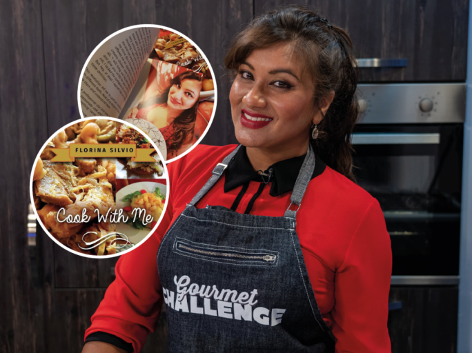 Florina Silvio has recently published her very own recipe book ' Cook With Me '