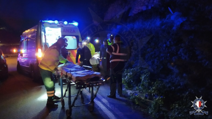 Man seriously injured after falling off Mdina bastions