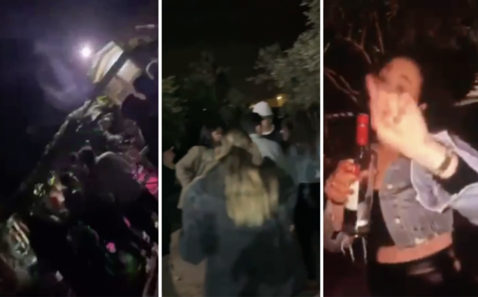 [WATCH] Video shows party held in villa in breach of COVID regulations