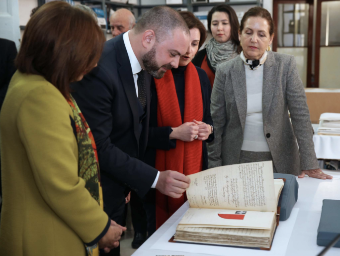 Documents containing the official grant of the George Cross to Malta restored
