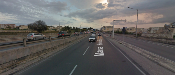 Marsa-Hamrun bypass will close for a couple of hours on the weekend