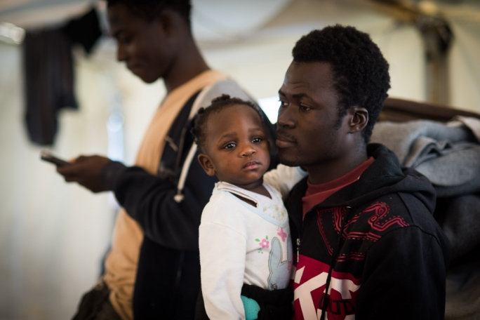 Children are among the 49 migrants stranded at sea off Malta