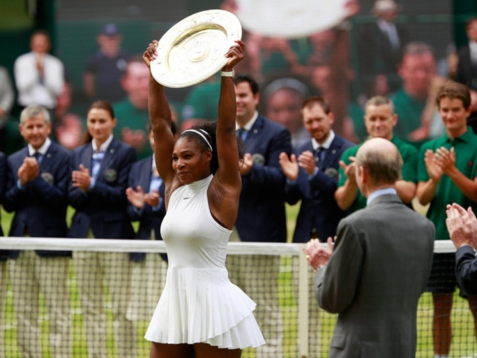 Serena Williams has won 22 Grand Slam singles titles