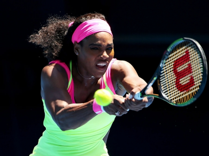 Serena Williams has set her sights on a sixth title