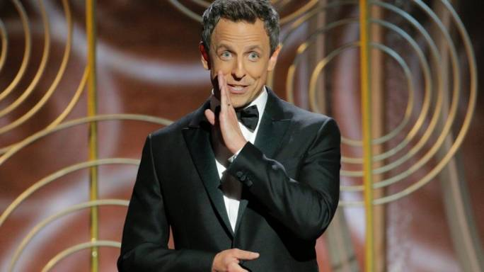 Seth Meyers hosted the ceremony