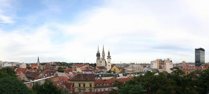 Kaptol, the diocese of Zagreb, is home to the cathedral which dates back to 1094