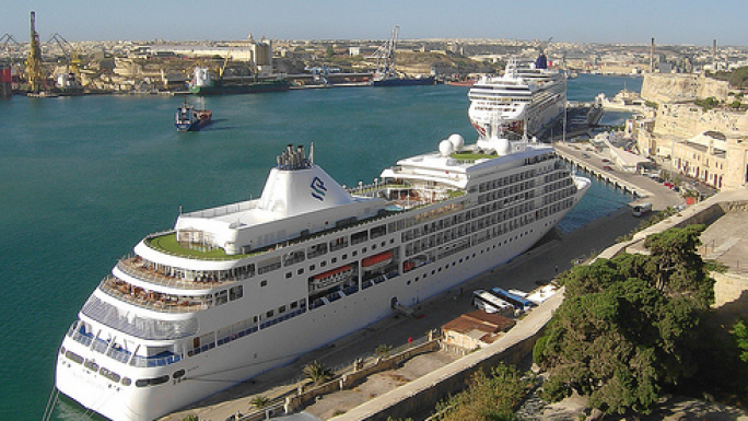 Cruise passenger traffic up 88.4% in first quarter