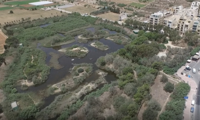 BirdLife Malta explained that the area next to the reserve is characterised by two-storey houses which were allocated the possibility to increase to four floors in the North West local Plan of 2006