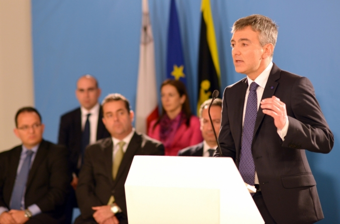 The Labour machine has pushed the line in its media that Busuttil was facing an open rebellion from MP