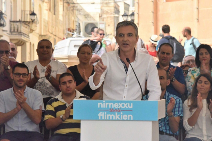 [WATCH] Muscat 'personally intervened' to delay LNG tanker's berthing, Busuttil claims