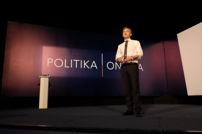 PN leader Simon Busuttil addressing the party's general council. Photo: Chris Mangion
