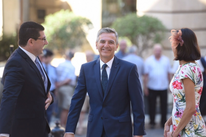 Simon Busuttil urged his successor to continue fighting government corruption