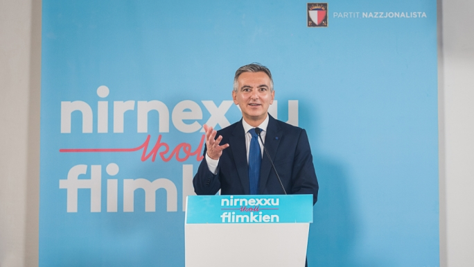 Busuttil pitches PN as workers' party and guardian of the voiceless