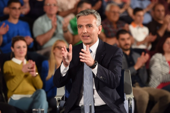 Busuttil said that if elected he would travel the world and clear Malta's name from the damage done by the Muscat administration. Photo: James Bianchi/MediaToday