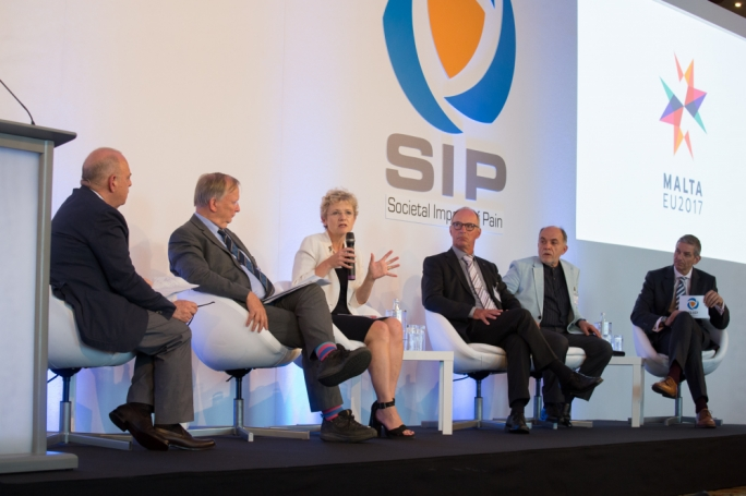 The Societal Impact of Pain symposium was initiated by SIP Malta, Malta Health Network and the No Pain Foundation