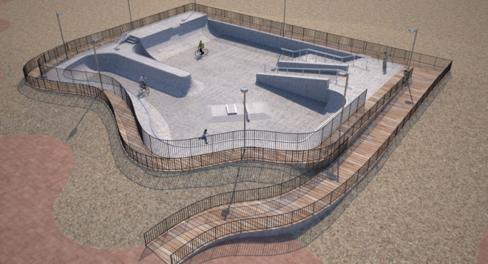 €600,000 President's Trust investment for vulnerable youngsters, including new skate park