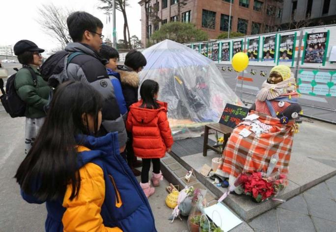 South Korea Buddhist Monk Sets Himself On Fire Over Wartime Sex Slaves Deal-3272
