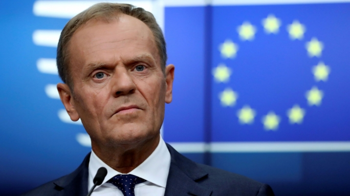Donald Tusk rejects Boris Johnson's call for removal of Irish backstop from Brexit deal