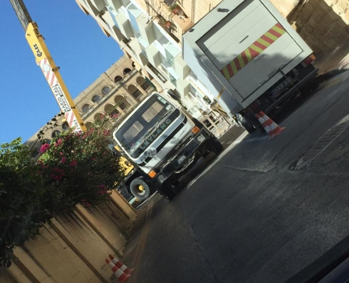 Sliema council 'inundated' with permit requests as retail owners complain of multiple road closures