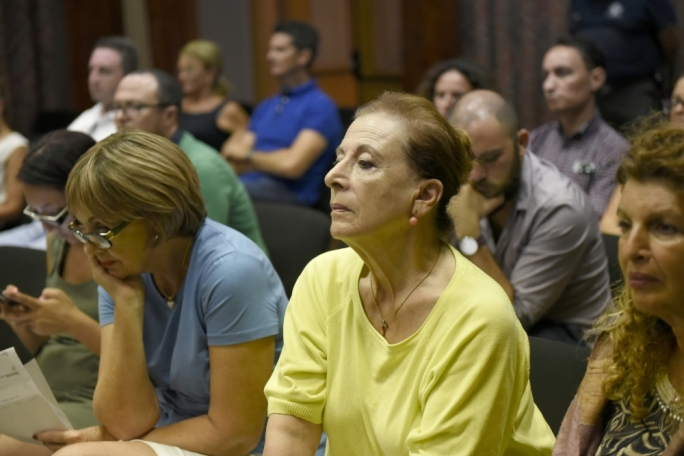 Sliema residents raised concerns against the development (Photo: Chris Mangion)