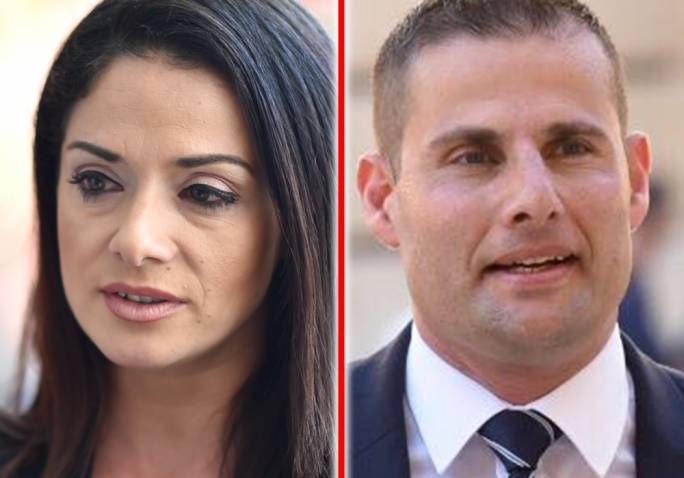 Miriam Dalli and Robert Abela