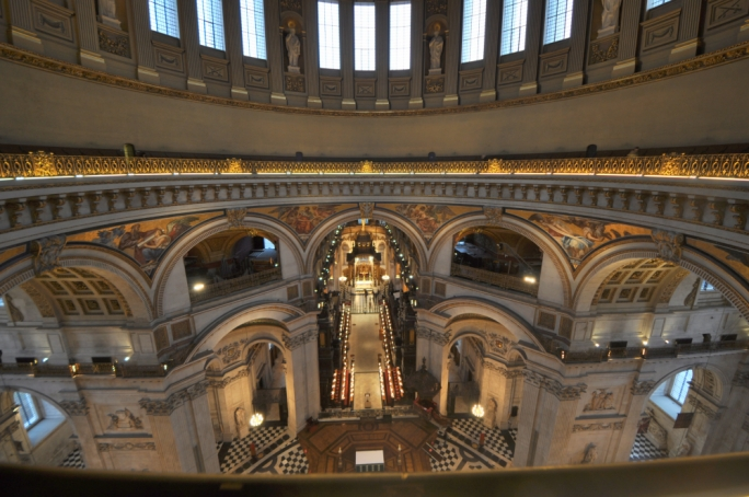 Whisper something to a friend at the other end of the Whispering Gallery at St Paul's Cathedral and be heard loud and clear from 30 metres away