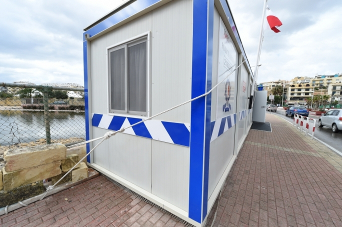 Mobile police station covered by MEPA clearance letter