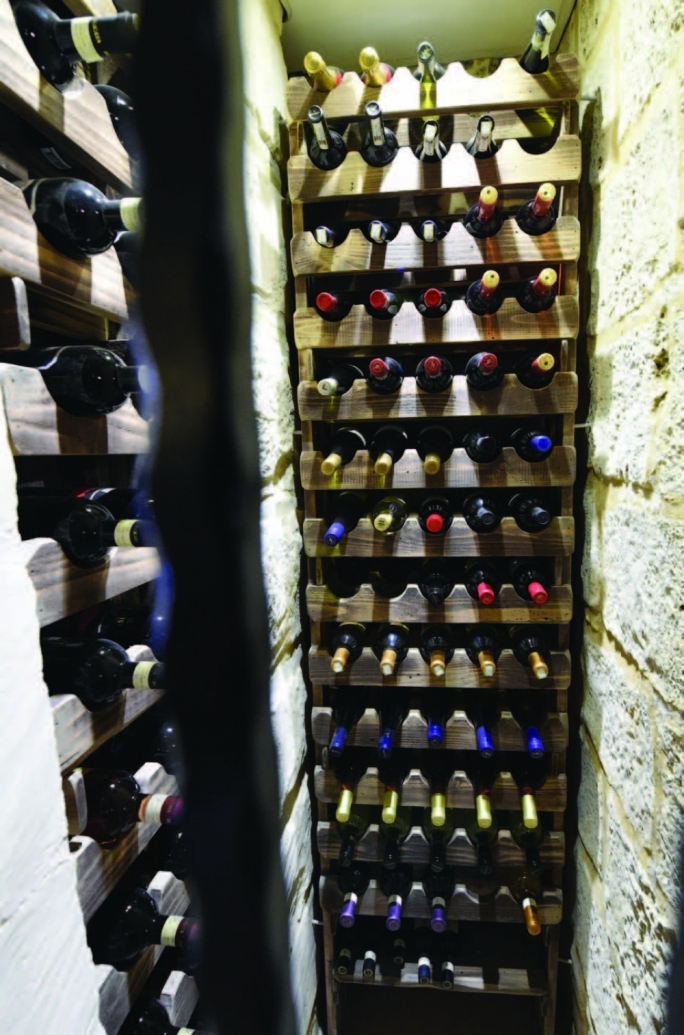 Wine on which no tax was paid has been confiscated from warehouses and restaurants (File photo)
