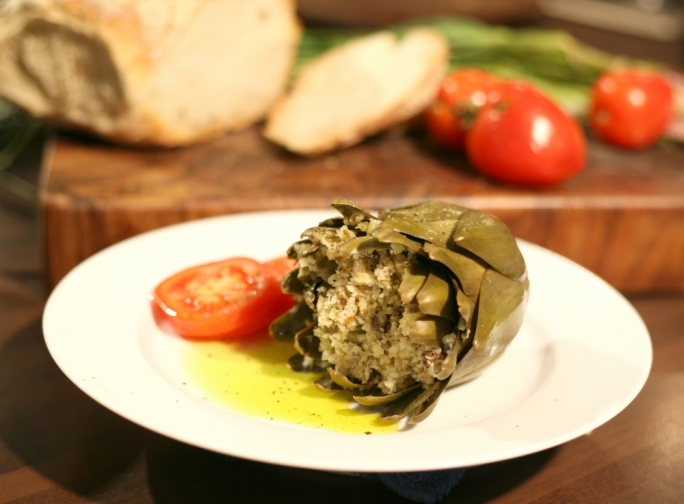 [WATCH] Stuffed artichokes
