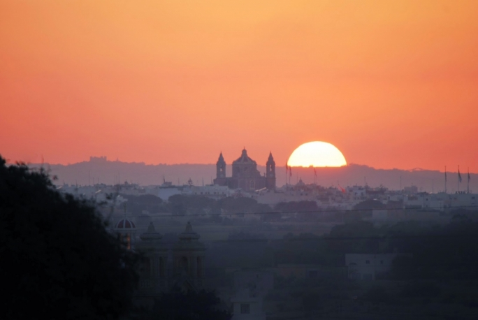 A lack of cloud cover saw Malta bake under more sunshine during July
