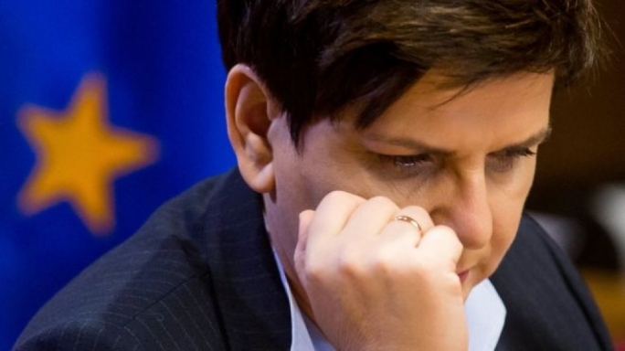 Polish PM Beata Szydlo has taken aim at her French counterpart Francois Hollande