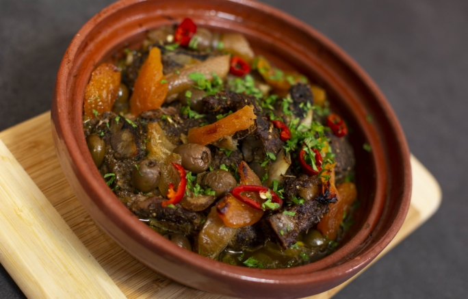 Lamb tagine with Ras el Hanout