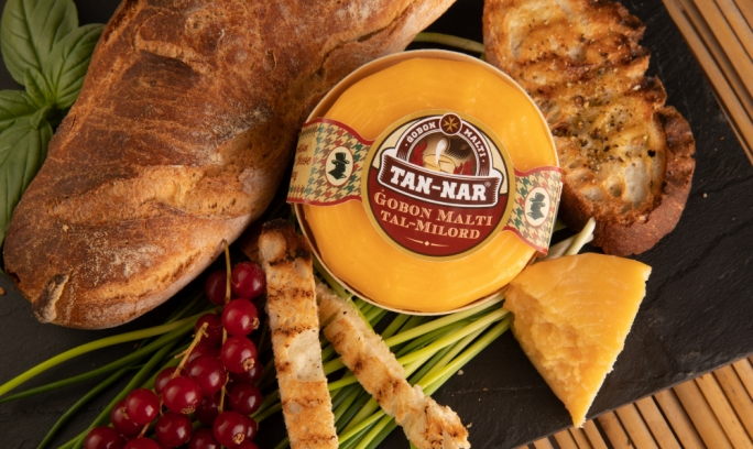 The new Tal-Milord cheese by Magro Brothers