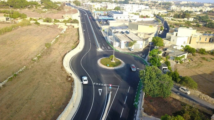 [WATCH] Tal-Balal Road linking Naxxar and San Ġwann officially opened