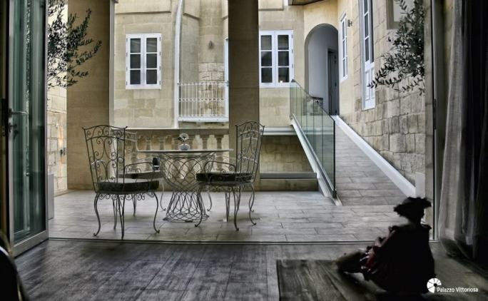 "The hotel opened for business in December 2012, with then Prime Minister Lawrence Gonzi saying that the boutique hotel ""showed the way forward in transforming Malta into a top class destination for tourists in the shoulder months"". (Photo: palazzovittoriosa.com)"