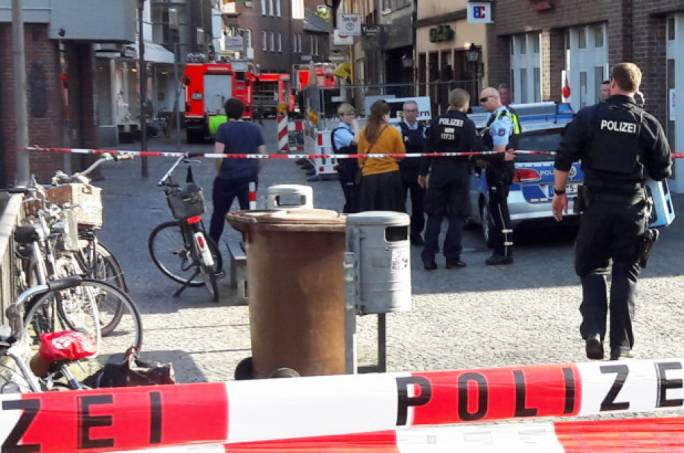 German investigators are trying to find out the motive behind the attack in Muenster on Saturday (Source: New York Post)