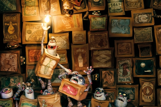 The Boxtrolls is voiced by an all-star cast including Ben Kingsley, Elle Fanning, Jared Harris, Toni Collette, Nick Frost, Richard Ayoade, Tracy Morgan and Simon Pegg