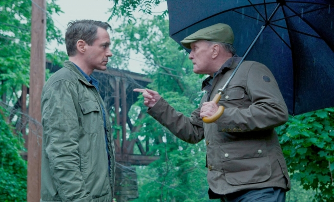 Robert Downey Jr and Robert Duvall