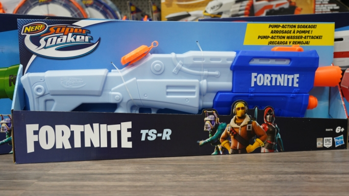 The Fortnite Nerf gun collection is a big ticket item this year among older kids